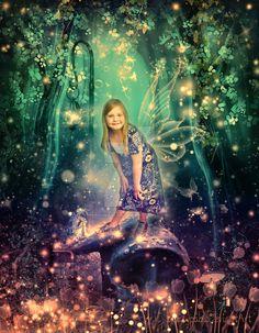 Lost by MelFeanen on DeviantArt Funcionalidades Do Photoshop, Light Art Installation, Toddler Photography, Aquatic Plants, Deviantart, Mermaid Hair, Cool Artwork, Professional Photographer, Creatures