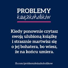 Więcej: Problemy książkoholików New Books, Good Books, Books To Read, Writing Memes, Funny Mems, Book Memes, Book Of Life, Book Characters, Bookstagram