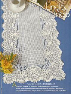 Crochet Dollies, Crochet Doily Patterns, Thread Crochet, Love Crochet, Lace Knitting, Crochet Designs, Crochet Lace, Crochet Bikini, Crochet Table Runner