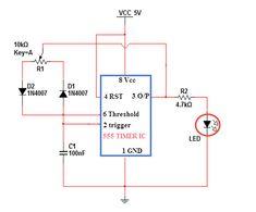 Diagram showing 15 standard circuit symbols. physics