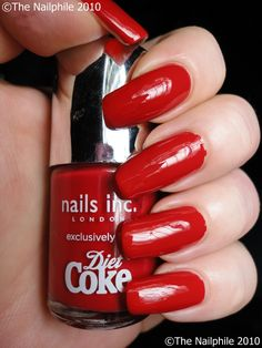 So your nails can match your drink.