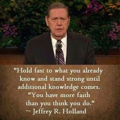 Faith. Strength. Knowledge.