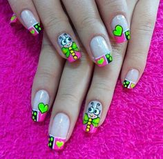 French Nail Designs, Nail Art Designs, Paris Nails, Beach Nails, Nail Manicure, Nail Colors, Beauty, Nail Bling, Gorgeous Nails
