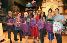 Dove Cameron and The Descendants 2 cast in New York City.
