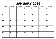 Get Printable January 2019 Calendar Wallpaper Blank Template Notes, Excel Sheets, MS Word, Doc With Holidays In USA, Canada & Australia. Free Monthly Calendar, January Calendar, Excel Calendar, Blank Calendar Template, Photo Calendar, 2019 Calendar, Massage Therapy School, January Month, Calendar 2019 Printable