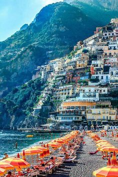 Positano Italy - One of my favorite stops in Italy!