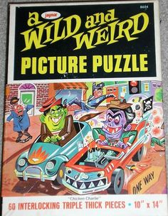 A wild and weird picture puzzle - 1960s