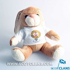 Bunny with Gray Clan Crest T Shirt