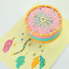 Dream catcher cake by cake style