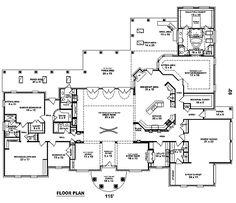 - 58409SV floor plan - Main Level
