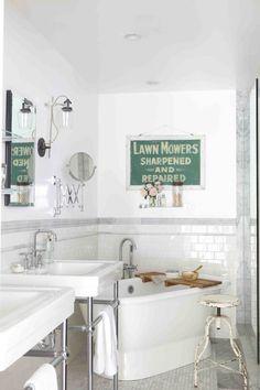 Cottage Bathroom | The Polished Pebble
