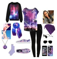 """Casual Outer Space"" by sage-knight on Polyvore"