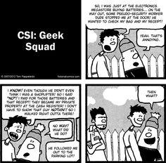 CSI: Geek Squad | The Optimist
