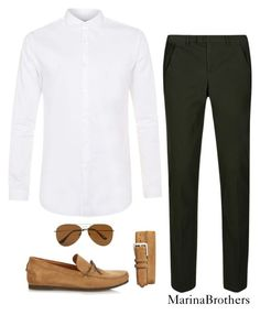 """MB2"" by paulagnz on Polyvore featuring Topman, DKNY, Tomas Maier, Torino, men's fashion y menswear"
