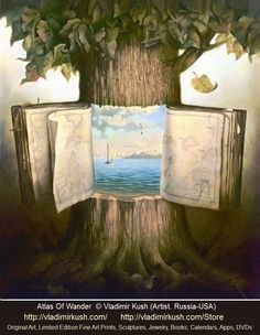 Atlas of Wander © Vladimir KUSH (Artist, Russia - Hawaii, USA). Prints available.   Artist Shop:  http://vladimirkush.com/Store