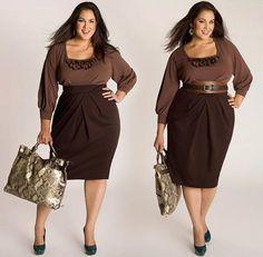 Andrea's Blog: Summer to Fall/Autumn Plus Size Fashion I Adore. By Igigi