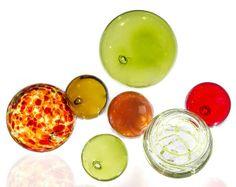 Salsa Mix Glass Orbs by Worldly Goods