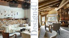Un ancien chalet d\'alpage rénové à La Clusaz | Chalet interior ...