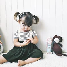"""Sweet Paisley in our NOW RESTOCKED AGAIN  """"MATILDA"""" Dark Olive Green Suspender Skirt 