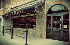 Phoenix Street Cafe, 523 Phoenix Street, South Haven, Michigan. Get bagels and breakfast anytime! Lunch, deli, dine in, carry out, and full service catering available. Specializing in fresh food, BoarsHea...