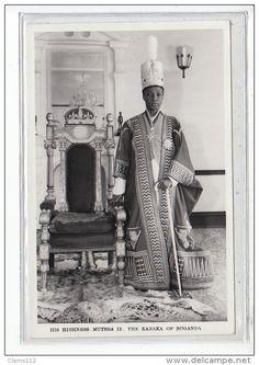 King Mutesa the Second of Buganda. He was a grandson of King Mwanga, and son of King Daudi Chwa.