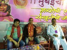 Mumbai cha Raja ke Darshan with close friends. .