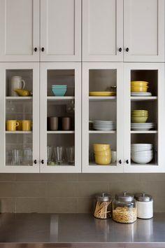 storage in the kitchen; kitchen cabinets; Cole Valley Kitchen