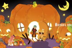 Halloween Vocaloids Illust : RAHWIA