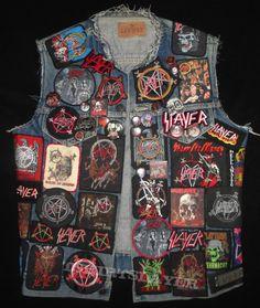 Slayer jacket front