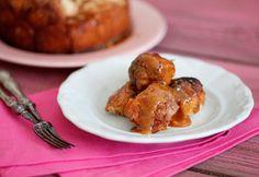Monkey bread Monkey Bread, Pizza Recipes, Quiche, Chicken, Meat, Breakfast, Food, Breakfast Cafe, Essen