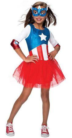 trajes de capitan america para niños jovenes  sc 1 st  Pinterest & Girls Robin Costume - Batman Costumes   Halloween-Costumes ...
