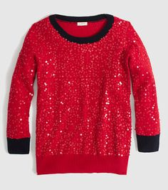 Sparkly holiday sweater? Yes, please!