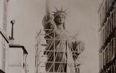 Historic photo of Statue of Liberty