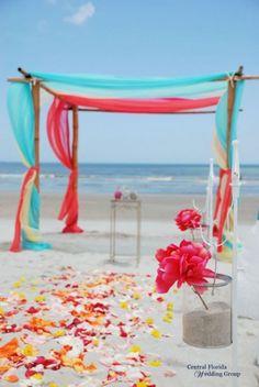 34 Awesome Tropical Wedding Ceremony Ideas