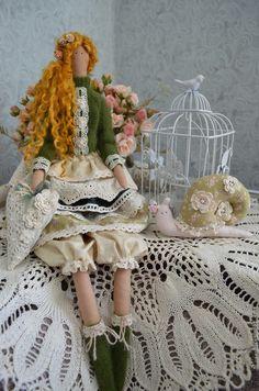 Куклы Тильды ручной работы. Ярмарка Мастеров - ручная работа. Купить Гретта. Handmade. Кукла ручной работы, свитер вязаный