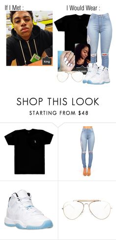 """She Got A Lil Bit Of Drama Wit Her Friends ."" by trapsoul ❤ liked on Polyvore featuring October's Very Own, Retrò and CÉLINE"