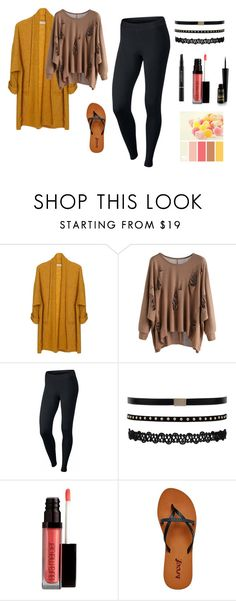 """""""Untitled #210"""" by cj34turtles ❤ liked on Polyvore featuring American Vintage, NIKE, Laura Mercier and Reef"""