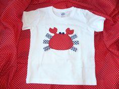 camiseta personalizada con cangrejo www.facebook.com/cottonlima