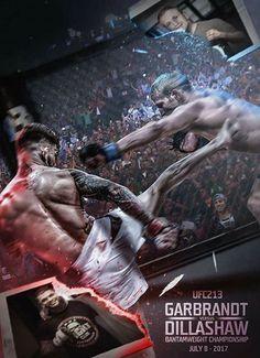#UFC213 Artwork by BossLogic Inc #mma #ufc