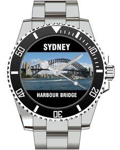 Sydney Harbour Bridge Australien Australia - KIESENBERG ® Uhr 2520 von UHR63 auf Etsy