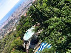 parc-attraction-tibidabo #barcelona #view