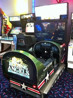 Blazing Angels arcade game History Of Video Games, Arcade Room, Great Videos, Pinball, Arcade Games, Game Room, Man Cave, Angels, Fire