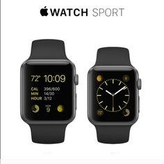 Apple Iwatch 42mm black sport Brand new, it has never been tried or turned on, plastic cover still on, includes all the accessories but on AppleCare, ⚠️lowball offers will not be accepted,SCAMMERS WILL BE REPORTED⚠️❌NO TRADE‼️ Apple Accessories Watches