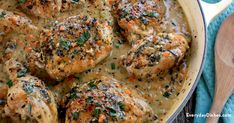 Chicken with white wine sauce - Everyday Dishes & DIY