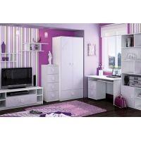 Roos-paarse meisjeskamer
