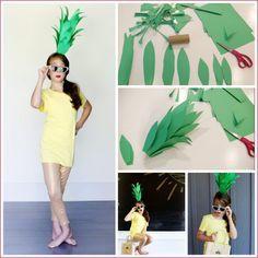 Super Easy DIY Pineapple Costume - Sugar Bee Crafts