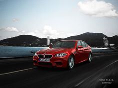 BMW M5 Red 2 by gryphiz.deviantart.com on @deviantART