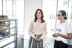 Crown Princess Mary opened new Danish Women's Crisis Centre