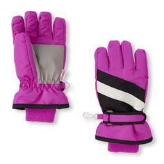 Girls Colorblock Gloves