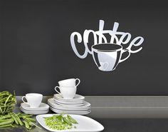 Spiegel-Design Schriftzug #Coffee #Kaffee #Kaffeetasse